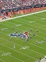 NFLの試合風景