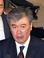 福田前財務事務次官